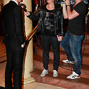 NLD/Noordwijk/20110625 - Orange Babies Gala 2011, lange Edwin van der Sar word geinterviewd door Sandra Ewalds voor SBS Shownieuws