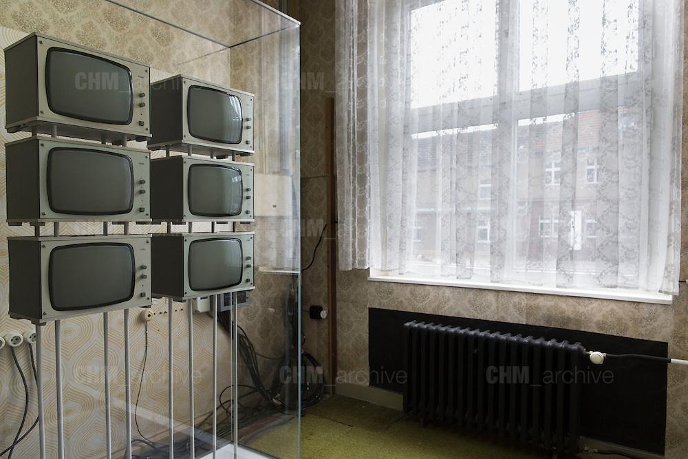L'interno dell'ex carcere e centro di interrogtorio della Stasi. Berlino, Germania, 8 ottobre 2014. Guido Montani / OneShot<br /> <br /> The former Stasi prison and interrogatory building. Berlin, Germany, 8 october 2014. Guido Montani / OneShot
