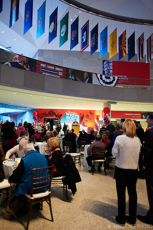 VIP Open House<br /> Headed to the White House Opening Day<br /> National Constitution Center<br /> February 11, 2016