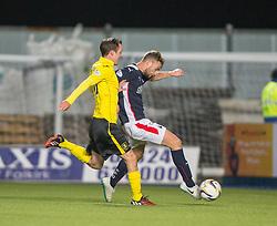 Falkirk's Rory Loy.<br /> Falkirk 0 v 0  Livingston, Scottish Championship game played 21/10/2014 at The Falkirk Stadium.