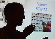Julie Seltzer Speaks About Writing the Torah in New Hope, Pennsylvania