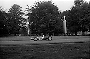 16/09/1967<br /> 09/16/1967<br /> 16 September 1967<br /> Phoenix Park Motor Racing, Kingsway Trophy Race, sponsored by Player and Wills (Ireland) Limited.  <br /> Image shows B. Quin's Crossle (23).