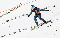 Stefan Kraft (AUT) during the Trial Round of the Ski Flying Hill Individual Competition at Day 1 of FIS Ski Jumping World Cup Final 2019, on March 21, 2019 in Planica, Slovenia. Photo by Masa Kraljic / Sportida