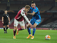 Football - 2020 / 201 UEFA Europa League - Round 16 - Second Leg - Arsenal vs Olympiakos - Emirates Stadium<br /> <br /> Martin Odegaard of Arsenal<br /> <br /> <br /> Credit : COLORSPORT/ANDREW COWIE