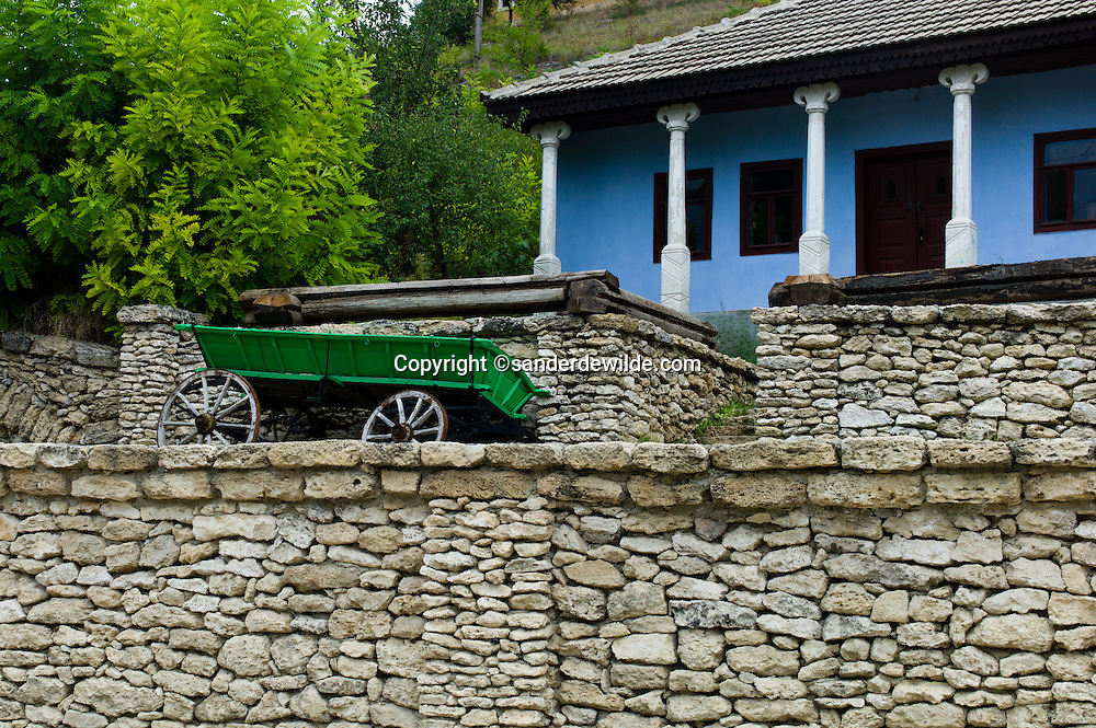 Old Orhei Moldova, is the place where our ancestors lived, and where you can visit underground monastry caves, or just see this home and stone walls and terraces