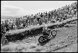 Jackpine Gypsies' Hillclimb, Sturgis, South Dakota, 1979<br /> <br /> Limited Edition Print from an edition of 15. Photo ©1979 Michael Lichter.