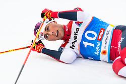 February 22, 2019 - Seefeld In Tirol, AUSTRIA - 190222 Jarl Magnus Riiber of Norway after competing in men's nordic combined 10 km Individual Gundersen during the FIS Nordic World Ski Championships on February 22, 2019 in Seefeld in Tirol..Photo: Vegard Wivestad Grøtt / BILDBYRÃ…N / kod VG / 170288 (Credit Image: © Vegard Wivestad GrØTt/Bildbyran via ZUMA Press)
