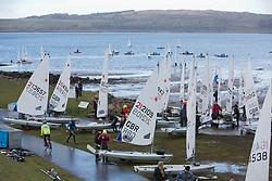 The RYA Youth National Championships Day <br /> Day 4.<br /> <br /> Laser Fleet launching<br /> <br /> Images: Marc Turner / RYA<br /> <br /> For further information contact:<br /> <br /> Richard Aspland, <br /> RYA Racing Communications Officer (on site)<br /> E: richard.aspland@rya.org.uk<br /> m: 07469 854599