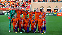 Football - 2017 UEFA Women's European [Euro] Championship - Group A : Netherlands vs. Denmark<br /> <br /> Netherlands team group at Sparta Stadoin , Rotterdam.<br /> <br /> COLORSPORT/LYNNE CAMERON