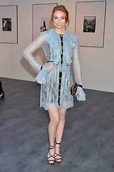 ELEANOR TOMLINSON at British Vogue's Centenary Gala Dinner in Kensington Gardens, London on 23rd May 2016.