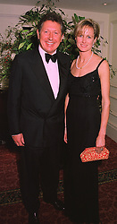 MR & MRS RICHARD NORTHCOTT he is the millionaire businessman, at a ball in London on 20th November 1997.MDN 55
