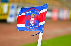 A Carlisle United cornerflag
