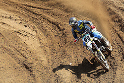 June 17, 2018 - Ottobiano, Lombardia, Italy - Max Anstie of Rockstar Energy Husqvarna Factory F team during the Fiat Professional MXGP of Lombardia race at Ottobiano Motorsport circuit on June 17, 2018 in Ottobiano (PV), Italy. (Credit Image: © Massimiliano Ferraro/NurPhoto via ZUMA Press)