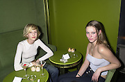 Malin Persson and Kiera Chaplin. Lady Victoria Hervey party. Saint Martins Lane Hotel. 12 December 2000 © Copyright Photograph by Dafydd Jones 66 Stockwell Park Rd. London SW9 0DA Tel 020 7733 0108 www.dafjones.com