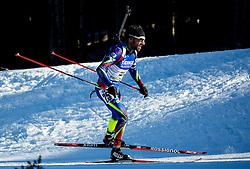 Jean Guillaume Beatrix (FRA)  during Men 15 km Mass Start at day 4 of IBU Biathlon World Cup 2015/16 Pokljuka, on December 20, 2015 in Rudno polje, Pokljuka, Slovenia. Photo by Vid Ponikvar / Sportida