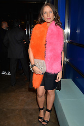 LULU KENNEDY at a dinner hosted by Anya Hindmarch and Dylan Jones to celebrate the end London Collections: Men 2014 held at Hakkasan, 8 Hanway Place, London on 8th January 2014.