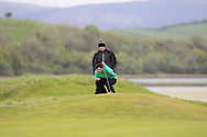 Sam Murphy (Portumna) the 17th green during Round 3 of the Ulster Boys Championship at Donegal Golf Club, Murvagh, Donegal, Co Donegal on Friday 26th April 2019.<br /> Picture:  Thos Caffrey / www.golffile.ie