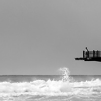 The touch of the edge, Umhlanga, South Africa