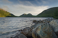 Jordan Pond with The Bubbles in the distance, Acadia National Park