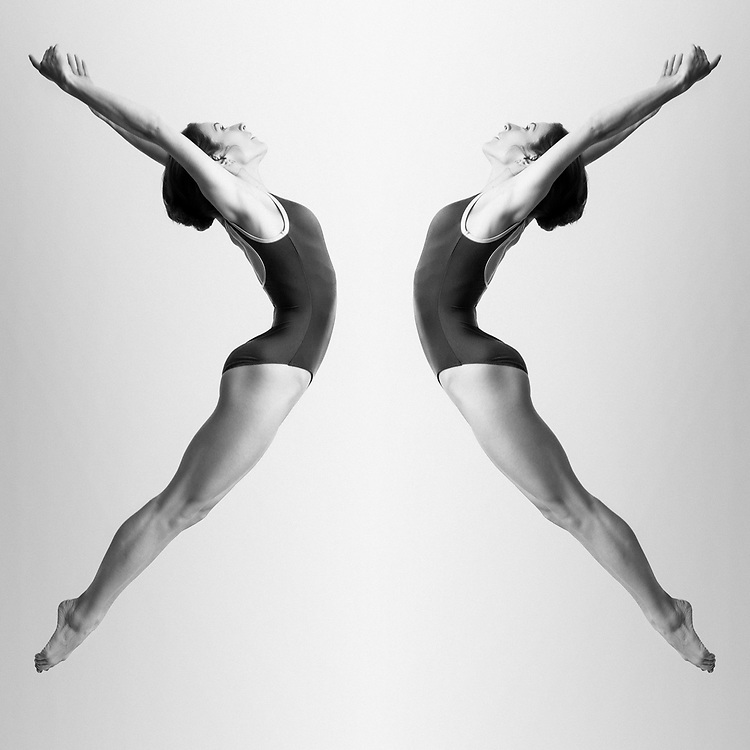 TRANSFERENCE Series featuring ballerinas Emily DeVito and Gena Nelson from San Diego, California. <br /> ©justinalexanderbartels.com