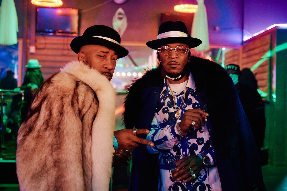 D-Phunk and Lo Deezy Bishop Don Magic Juan's 46th Annual Players Ball held in Atlanta, December 2020.