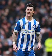 Brighton defender Liam Ridgewell during the Sky Bet Championship match between Brighton and Hove Albion and Huddersfield Town at the American Express Community Stadium, Brighton and Hove, England on 23 January 2016. Photo by Bennett Dean.