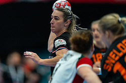 Lois Abbingh of Netherlands in action during the Women's EHF Euro 2020 match between Netherlands and Hungry at Sydbank Arena on december 08, 2020 in Kolding, Denmark (Photo by RHF Agency/Ronald Hoogendoorn)