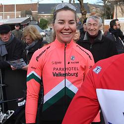 01-03-2020: Wielrennen: Hageland vrouwen: Tielt-Winge: Femke Markus