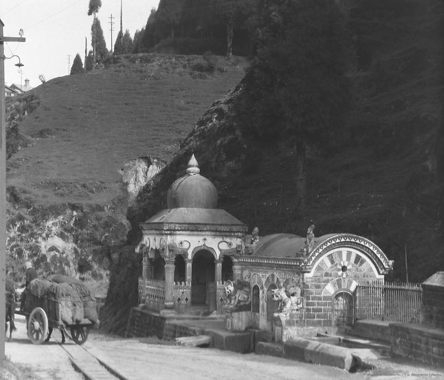 Nepalese Hindu Temple, Darjeeling Road near Ghum, India, 1929