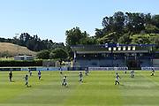 Auckland City players warm up before the Handa Premiership football match, Hawke's Bay v Auckland, Bluewater Stadium, Napier, Sunday, January 20, 2019. Copyright photo: Kerry Marshall / www.photosport.nz
