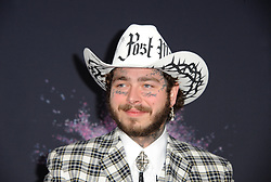 Post Malone at the 2019 American Music Awards held at the Microsoft Theater in Los Angeles, USA on November 24, 2019.