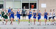 Washingtonville, New York - Washingtonville Wizard Invitational high school cross country meet on Sept. 8,  2017.
