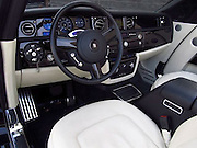 Bid it like Beckham: David sells his all-black Rolls-Royce Phantom on eBay for £250, 000<br /> <br /> Two of England's most successful ever exports parted ways today after almost four years together.<br /> David Beckham has decided to sell his limited edition black Rolls-Royce Phantom Drophead Coupe on internet bidding site eBay.<br /> The most capped English footballer of all time bought the stylish car in 2008 for £350,000 and spent thousands more having it customised.<br /> He personally oversaw every additional design to the car and asked for it to be blacked out with tinted windows, a black Spirit of Ecstasy, and huge black 24-inch alloys were also added.<br /> <br /> The car became one of Hollywood's most recognisable vehicles and has been up for sale on eBay since Friday for £250, 000.<br /> The unique automobile was the jewel in Beckham's extensive all-black air-conditioned garage, which also included a specially built Range Rover, Porsche 911 and a Jeep Wrangler.<br /> The LA Galaxy star has amassed 6,000 miles in the flashy car and has sent it to a specialist dealership to be sold.<br /> Towbin Cars, in Las Vegas, is advertising the car for $390, 000 and offer a full service history for the 6.75-litre V12 engine which develops 450bhp and enables among the smoothest acceleration of all cars.<br /> It can do 0 to 62 miles per hour in 5.9 seconds and it has an overall top speed of 150mph.<br /> ©Exclusivepix