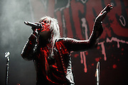 Photos of Murderdolls performing on The Halloween Hootenanny Tour at the Family Arena in St. Louis on October 7, 2010