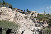 Israel, Jerusalem, The City of David (Ir David‎) is claimed to be the oldest settled neighborhood of Jerusalem and a major archaeological site due to recognition as biblical Jerusalem
