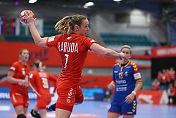 KOLDING, DENMARK - DECEMBER 5: Aneta Labuda during the EHF Euro 2020 Group D match between Poland and Romania in Sydbank Arena, Kolding, Denmark on December 5, 2020. Photo Credit: Allan Jensen/EVENTMEDIA.
