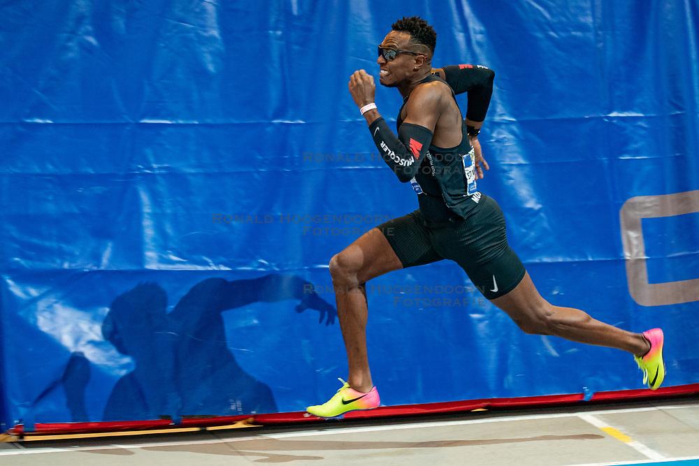 Liemarvin Bonevacia win the 400 meter during AA Drink Dutch Athletics Championship Indoor on 21 February 2021 in Apeldoorn.