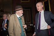 WILFRED D'EATH; Oldie magazine Christmas party, The Garrick club. Covent Garden, London, 4 December 2018