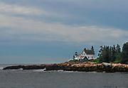Located on Mark Island, Bar Harbor, Maine. Built in 1856