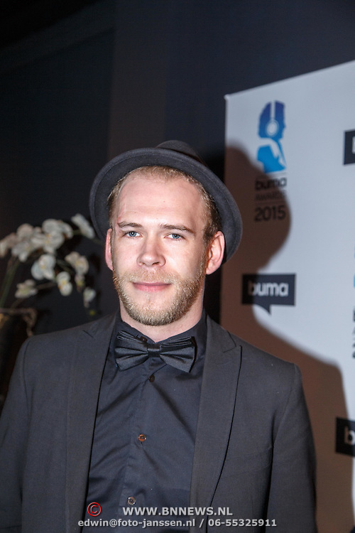 NLD/Hilversum/20150217 - Inloop Buma Awards 2015, Michael Prins