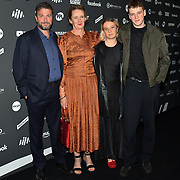 Charles Caldas and family arrives at the AIM Independent Music Awards at the Roundhouse on 3 September 2019, Camden Town, London, UK.