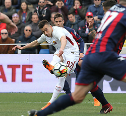 March 18, 2018 - Crotone, KR, Italy - STEPHAN EL SHAARAWY of Roma during the serie A match between FC Crotone and AS Roma at Stadio Comunale Ezio Scida on March 18, 2018 in Crotone, Italy. (Credit Image: © Gabriele Maricchiolo/NurPhoto via ZUMA Press)