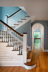 3122 Newark House Kitchen, Great Room, pool, Exterior patio staircase, arched hallway VA2_229_899