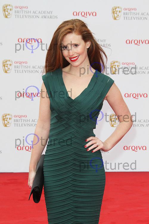 Amy Nuttall, Arqiva British Academy Television Awards, Royal Festival Hall London UK, 12 may 2013, (Photo by Richard Goldschmidt)