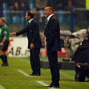 NLD/Arnhem/20051211 - Voetbal, Vitesse - Ajax 2005, coaches Danny Blind en Edward Sturing
