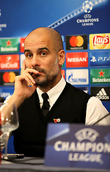 This evening at the Vesuvius hotel in Naples there was the press conference of Manchester City coach, Josep Guardiola and player David Silva who responded to journalists' doubts over the league's Champions League tomorrow against Napoli.