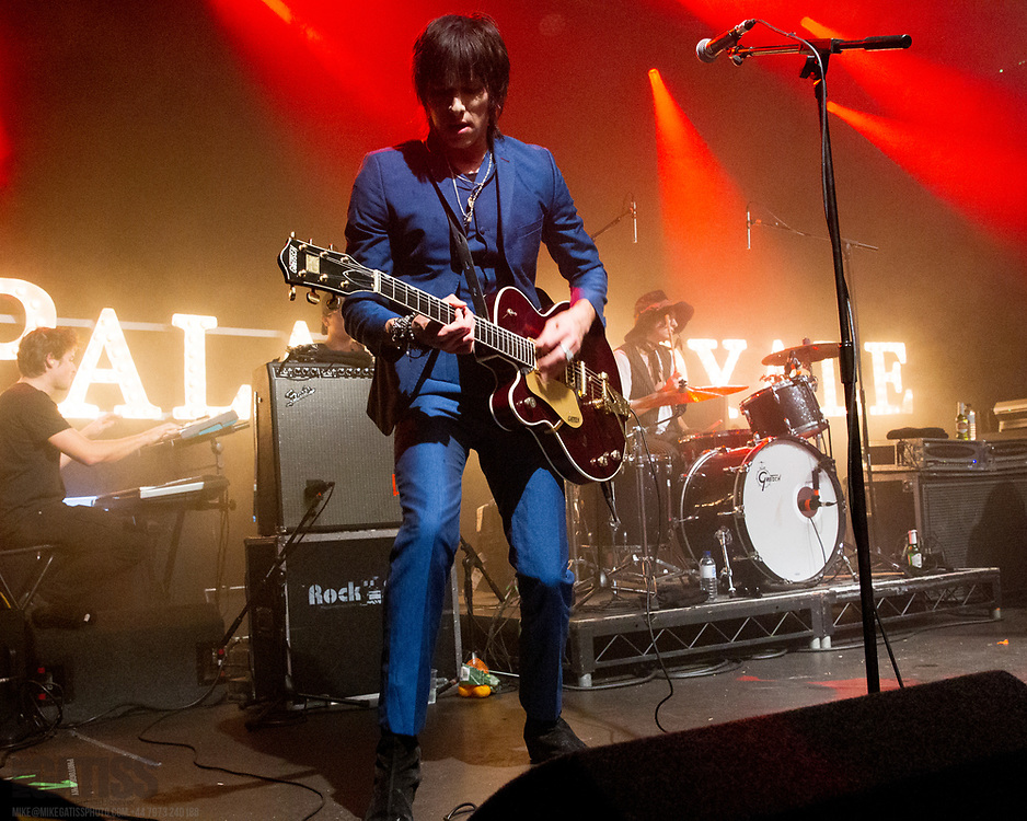 Palaye Royale performing live at Manchester Academy 2, Manchester, United Kingdom, 2018-10-03