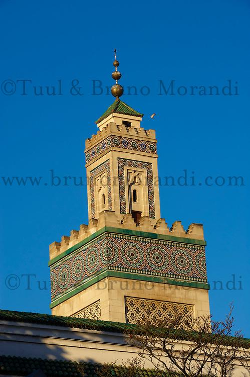 France, Paris (75), la Grande Mosquée de Paris // France, Paris (75), Mosquee of Paris