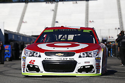 September 23, 2017 - Loudon, New Hampshire, United States of America - September 23, 2017 - Loudon, New Hampshire, USA: Kyle Larson (42) takes to the track to practice for the ISM Connect 300 at New Hampshire Motor Speedway in Loudon, New Hampshire. (Credit Image: © Justin R. Noe Asp Inc/ASP via ZUMA Wire)