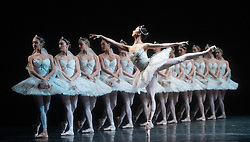 La Bayadere <br /> A ballet in three acts <br /> Choreography by Natalia Makarova <br /> After Marius Petipa <br /> The Royal Ballet <br /> At The Royal Opera House, Covent Garden, London, Great Britain <br /> General Rehearsal <br /> 30th October 2018 <br /> <br /> STRICT EMBARGO ON PICTURES UNTIL 2230HRS ON THURSDAY 1ST NOVEMBER 2018 <br /> <br /> <br /> Akane Takada - the Shades <br /> <br /> <br /> <br /> Photograph by Elliott Franks Royal Ballet's Live Cinema Season - La Bayadere is being screened in cinemas around the world on Tuesday 13th November 2018 <br /> --------------------------------------------------------------------